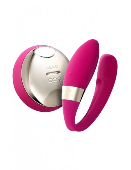 Vibrador doble Tiani 2 Design Edition Cereza