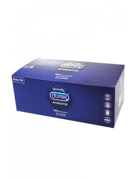 Preservativos Durex Anatomic 144 unidades