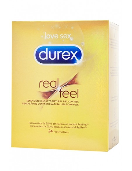 Preservativos sin látex Real Feel Durex 24 uds