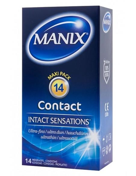 Preservativos ultra finos Manix Contact