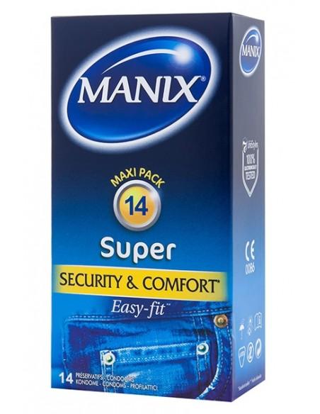 Preservativos clásicos Manix Super