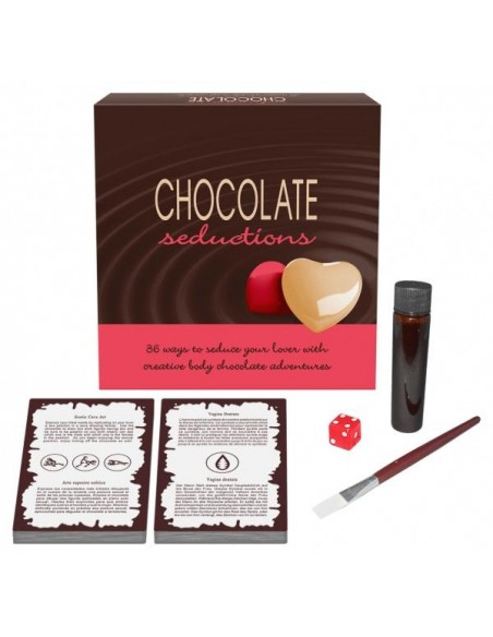 Juego erótico Chocolate Seductions